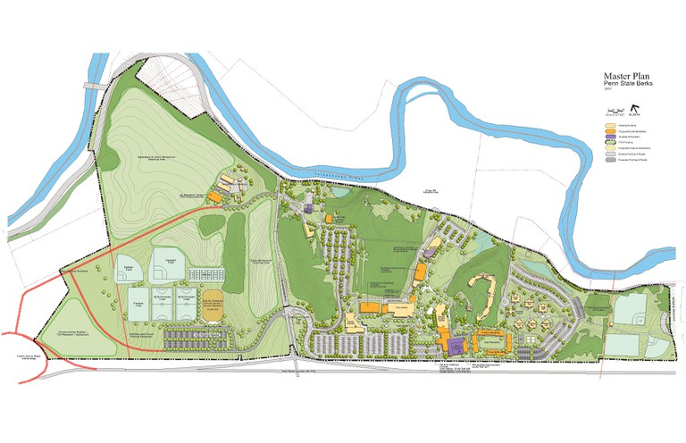 Berks Master Plan | Office of the Physical Plant