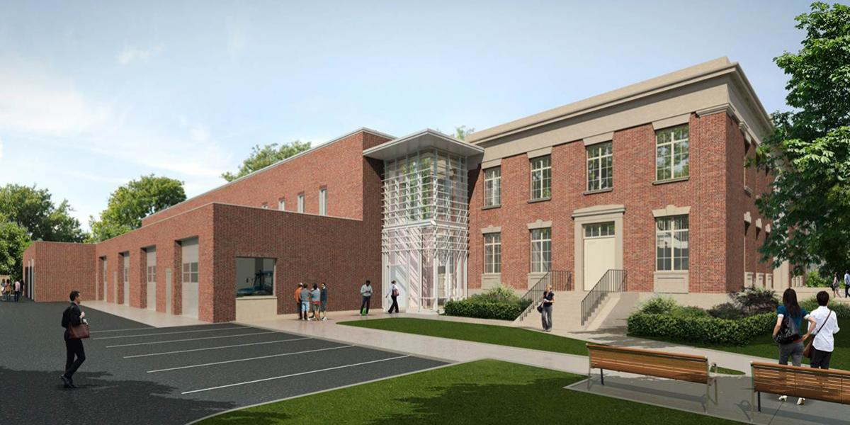 Agricultural Engineering Building rendering