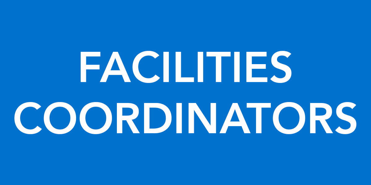 Facilities Coordinator graphic