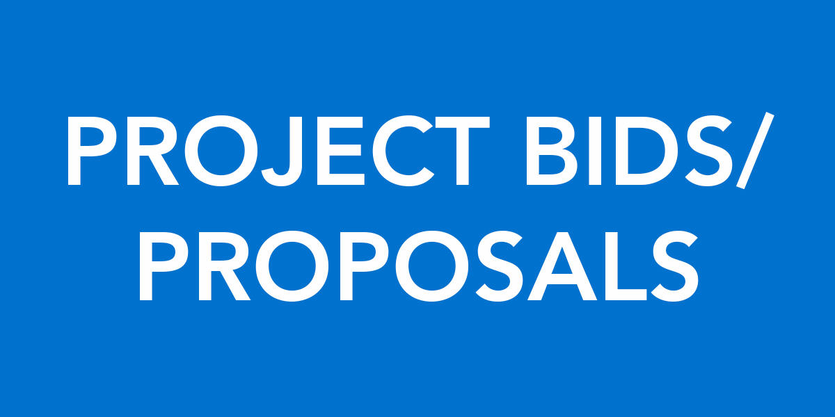 Project Bids/Proposals