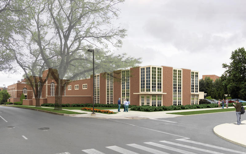 Rendering of the future West Campus Steam Plant