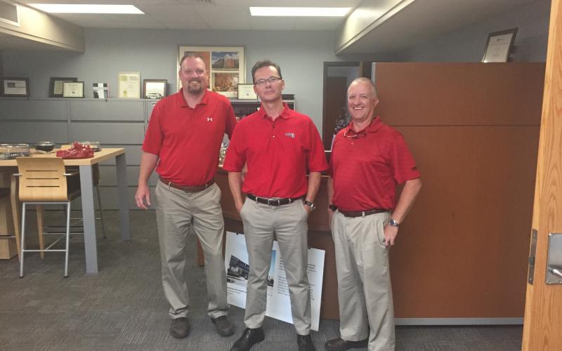 Photo of employees matching