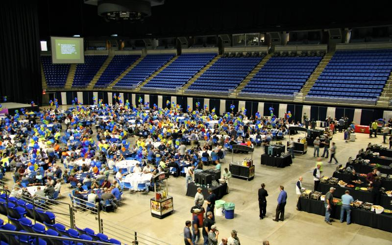 Photo of the OPP Spring Celebration in the BJC.