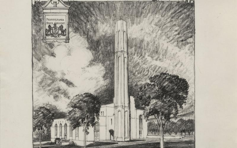 The proposed WCSP by Archiect Charles Klauder circa 1931