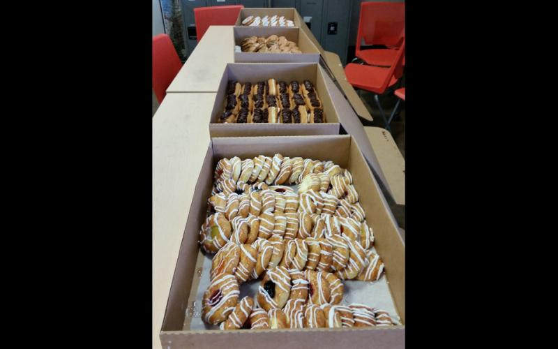 Photo of treats from National Employee Appreciation Day