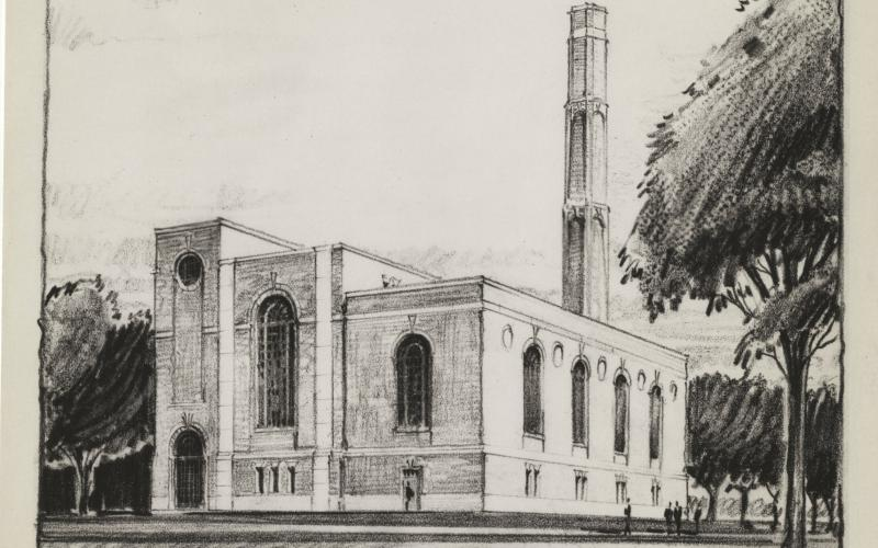 The proposed WCSP by Architect Charles Klauder circa 1931