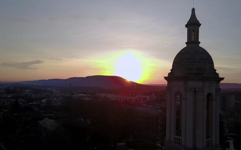 Sunrise over Happy Valley