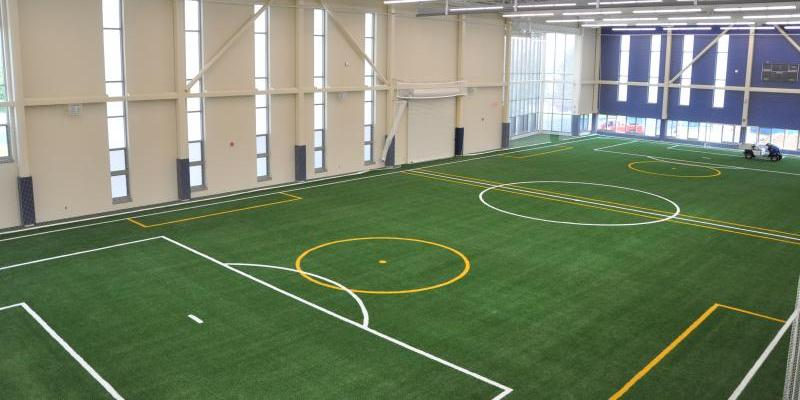 Indoor turf at intramural building
