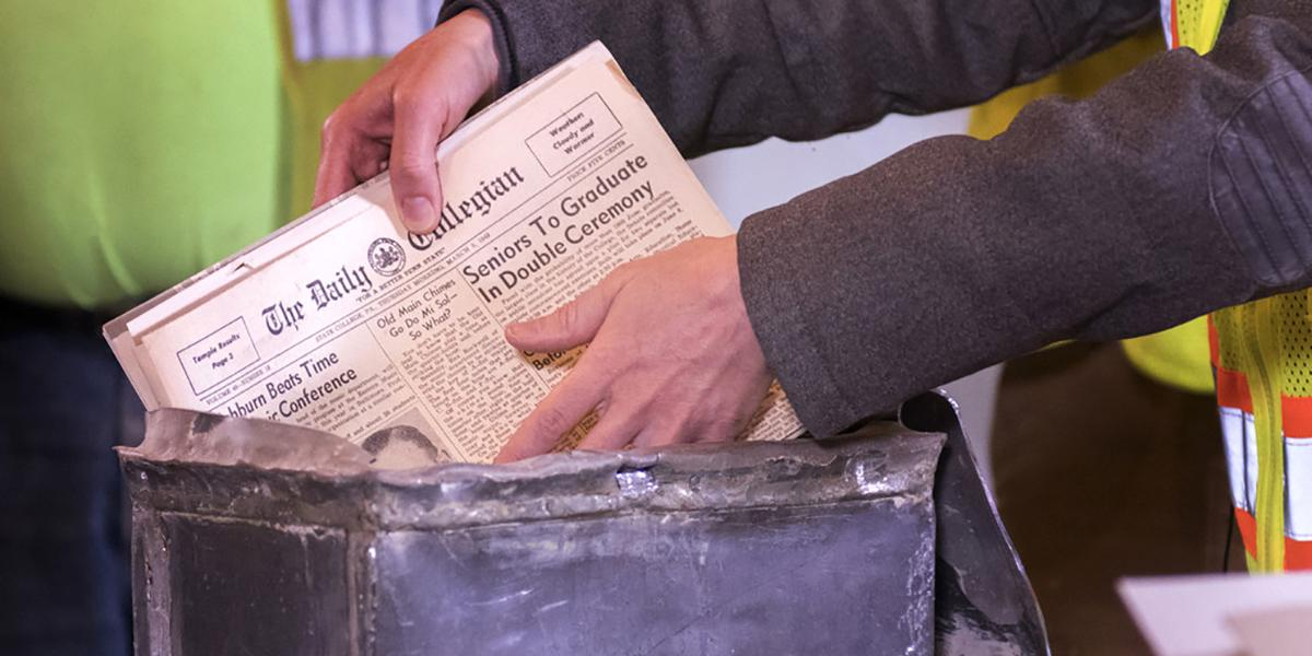 Contents of time capsule from 1949 show similarities in life at the University